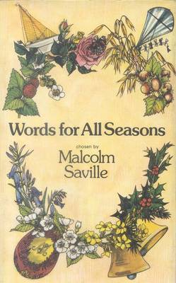 Words for All Seasons by Malcolm Saville