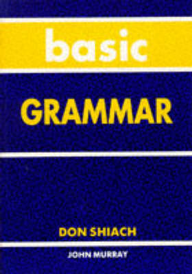 Basic Grammar by Don Shiach
