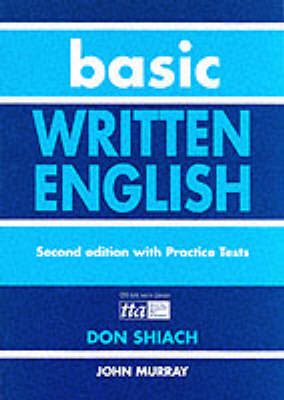 Basic Written English by Don Shiach