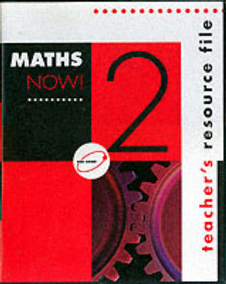 Maths Now! Red Orbit - Teacher's Resource by Maths Now! National Writing Group