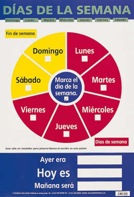 Dias De La Semana (Days of the Week) by