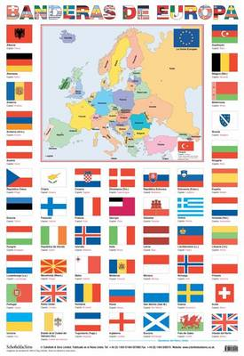Banderas De Europa (flags of Europe) by