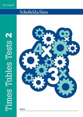 Times Tables Tests Book 2 by Hilary Koll, Steve Mills