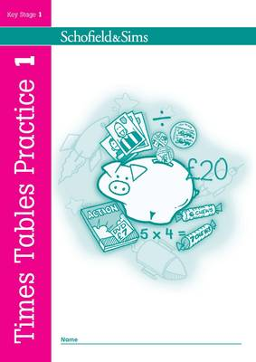 Times Tables Practice Book 1 by Ann Montague-Smith