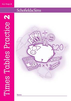 Times Tables Practice Book 2 by Ann Montague-Smith