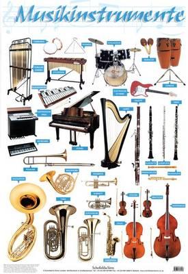 Musikinstrumente by