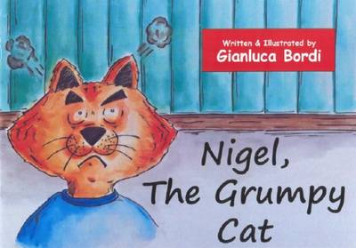 Nigel, the Grumpy Cat by Gianluca Bordi