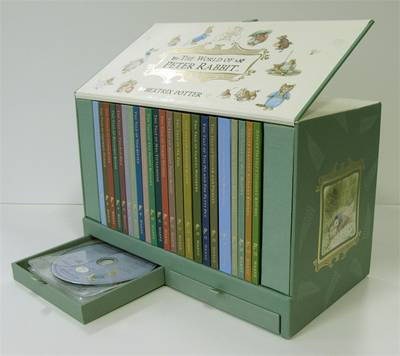 The World of Peter Rabbit: The Collector's Edition of Original Tales 1-23 with Audio Books by