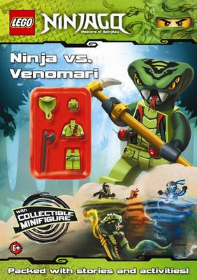 LEGO Ninjago: Ninja vs Venomari Activity Book with Minifigure by