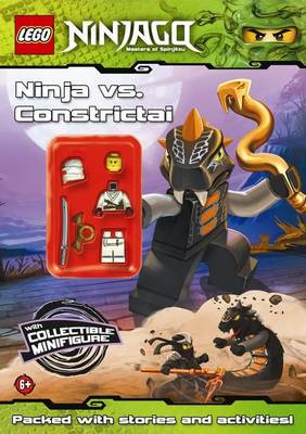 LEGO Ninjago: Ninja vs Constrictai Activity Book with Minifigure by