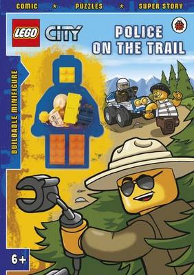 LEGO CITY: Police on the Trail Activity Book with Minifigure by