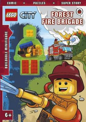 LEGO CITY: Forest Fire Brigade Activity Book with Minifigure by