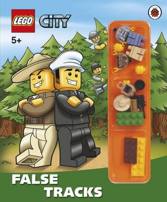 LEGO City: False Tracks Storybook with Minifigures and Accessories by