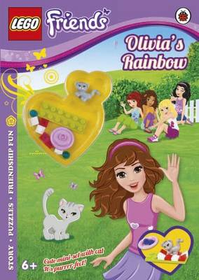 LEGO Friends Olivia's Rainbow Activity Book with Mini-set by