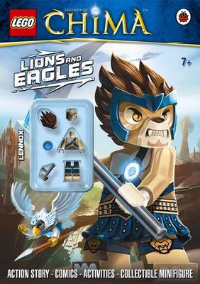 LEGO Legends of Chima: Lions and Eagles Activity Book with Minifigure by