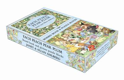Each Peach Pear Plum Book and Block Set by Allan Ahlberg
