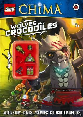 LEGO Legends of Chima: Wolves and Crocodiles Activity Book with Minifigure by