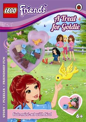 LEGO Friends: A Treat for Goldie Activity Book with Mini-set by