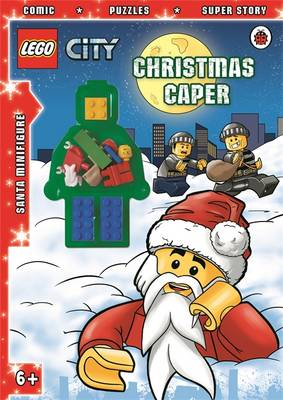 LEGO CITY: Christmas Caper Activity Book with Minifigure by