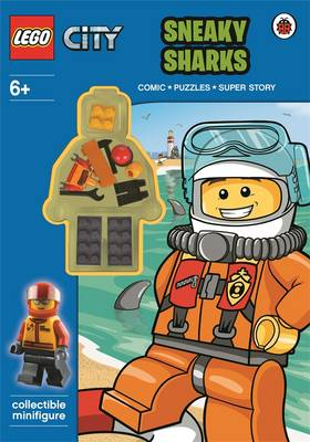 LEGO City: Sneaky Sharks Activity Book with Minifigure by