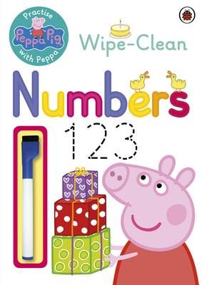 Peppa Pig: Practise with Peppa: Wipe-Clean Numbers by