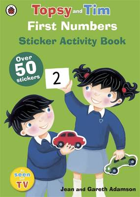 First Numbers: A Ladybird Topsy and Tim Sticker Book by