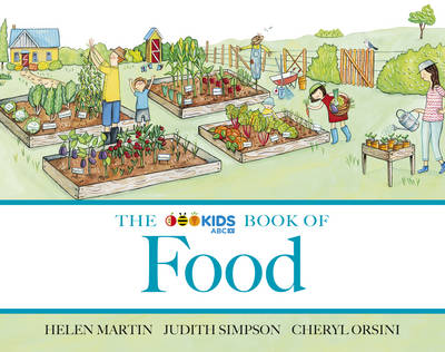 The ABC Book of Food by Helen Martin, Judith Simpson