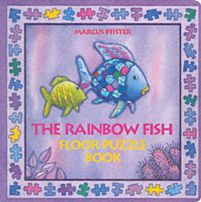 Rainbow Fish Floor Puzzle Board Book by Marcus Pfister