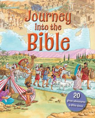 Journey into the Bible A Time Traveller's Guidebook by Lois Rock