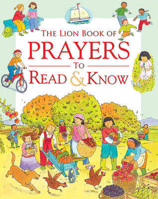 The Lion Book of Prayers to Read and Know by Sophie Piper