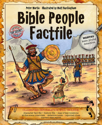 Bible People Factfile by Peter Martin