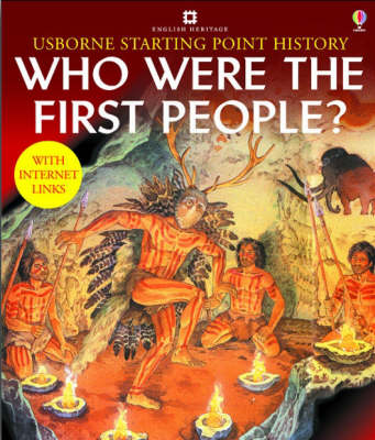 Who Were the First People by Phil Roxbee Cox