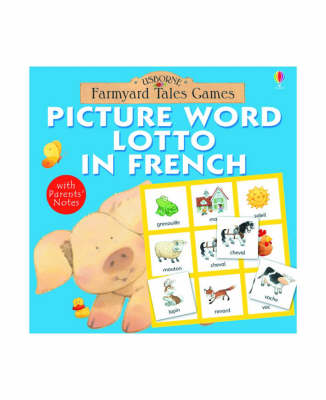 Picture Word Lotto in French by