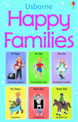 Happy Families Card Game by