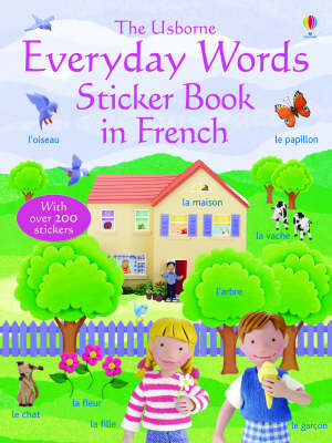 Everyday Words in French by Felicity Brooks