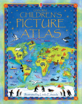 The Usborne Children's Picture Atlas Miniature Edition by Ruth Brocklehurst
