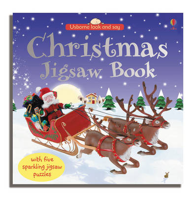 Christmas Jigsaw Book by Felicity Brooks