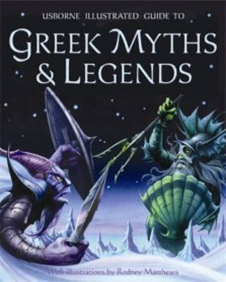 Greek Myths and Legends by Cheryl Evans, Anne Millard
