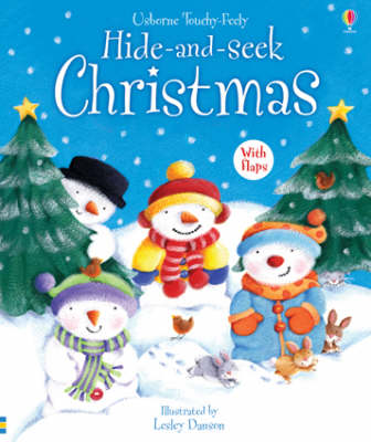 Hide and Seek Christmas by Fiona Watt
