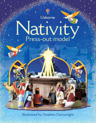 Nativity Press-out Model by Iain Ashman
