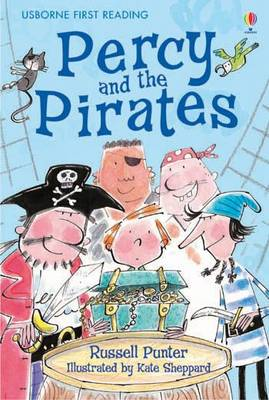 Usborne Guided Reading Pack Percy and the Pirates by Russell Punter