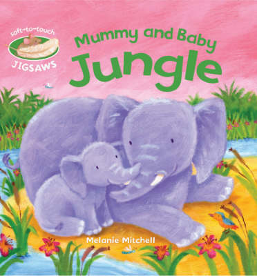 Mummy and Baby Jungle Soft-to-Touch Jigsaws by Smriti Prasadam