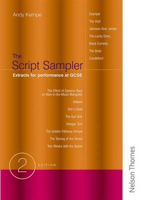 Script Sampler - Extracts for Performance at GCSE by Andy Kempe
