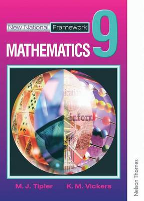 New National Framework Mathematics 9 Core Pupil's Book by M. J. Tipler