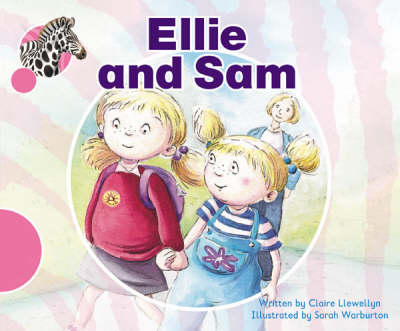 Spotty Zebra Pink A Ourselves - Ellie and Sam by Claire Llewellyn