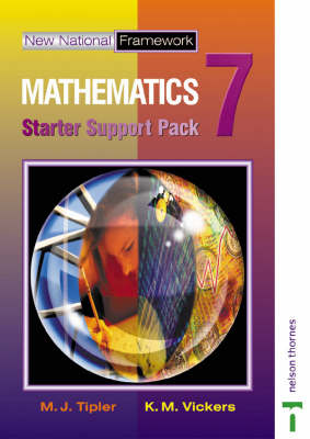 New National Framework Mathematics Starter Support Pack 7 by Gill Read, Chris Humble