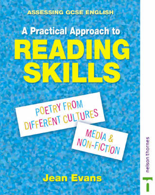 Assessing GCSE English a Practical Approach to Reading Skills by Jean Evans, David Stone