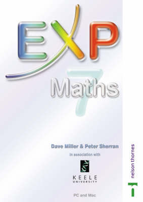EXP Maths Interactive Whiteboard Activities and Tools by David Miller, Peter Sherran