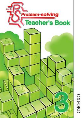 Can Do Problem Solving Year 3 Teacher's Book by Sarah Foster, Lynsey Ankers