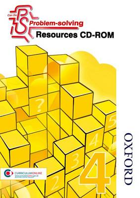 Can Do Problem Solving Year 4 Resources CD-ROM by Sarah Foster, Lynsey Ankers